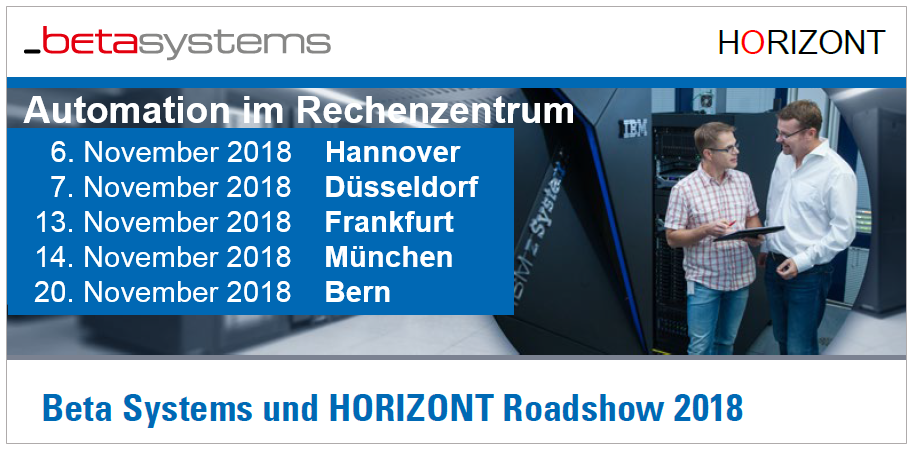 Beta Systems HORIZONT Roadshow